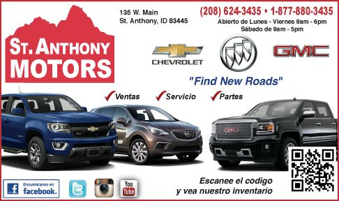 St. Anthony Motors - Chevy, Buick and GMC for sale here!