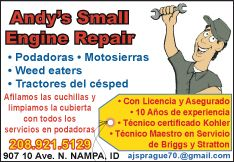 Andy's Small Engine Repair