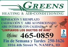 Greens Heating & Air Conditioning