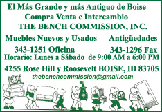 The Bench Commission, Inc.