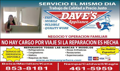 Dave's Appliance