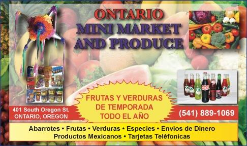 Ontario Mini Market