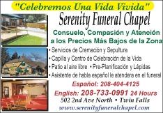 Serenity Funeral Chapel