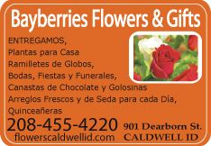 Bayberries Flowers and Gifts