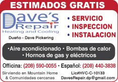 Dave's Repair Heating and Cooling