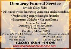 Demaray Funeral Service