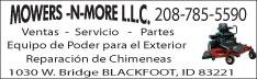 Mowers-N-More LLC.